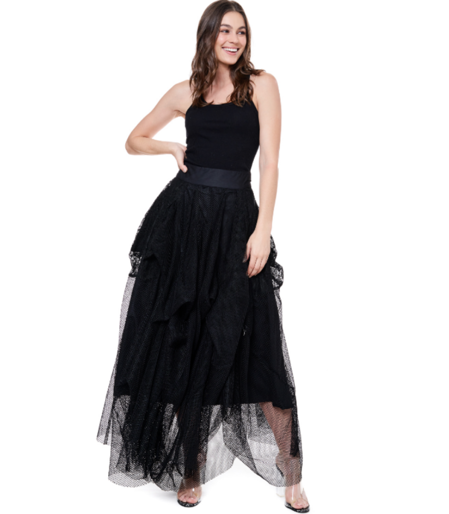Sasha Mesh Skirt Pre-Order